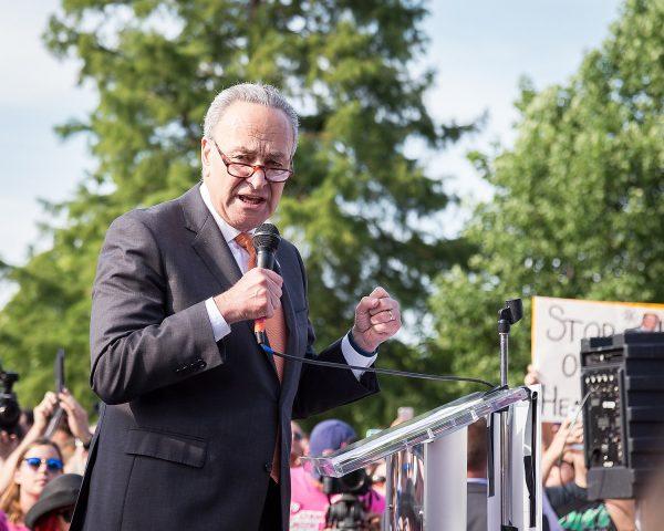 Democrat Senate Leader Chuck Schumer