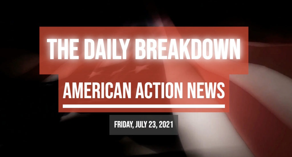 More proof of CRT in schools, Pelosi plays partisan politics, masks, guns, and more on the AAN Daily Breakdown.